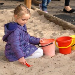 Sandpit fun at Hawthorn Childcare and Early Learning Centre